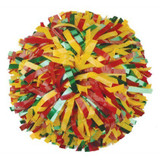 2 Color Plastic with Metallic Flash Pom Balls