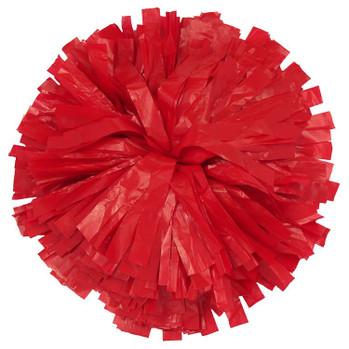 1 Color Plastic Stock Poms - Adult