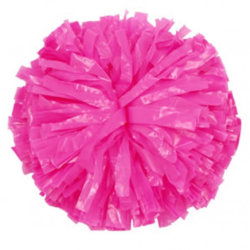 1 Color Plastic Stock Poms - Youth (KAP)