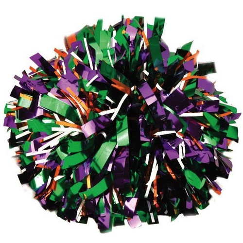Metallic with 20% Metallic Glitter Poms - Adult