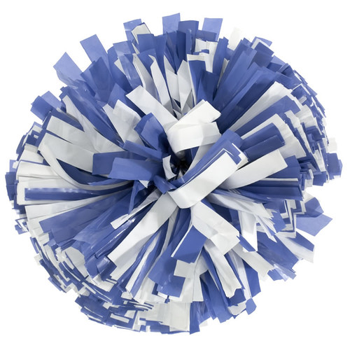 2 Color Plastic Poms - Adult