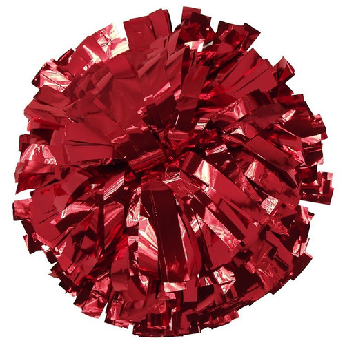 1 Color Metallic Poms - Adult