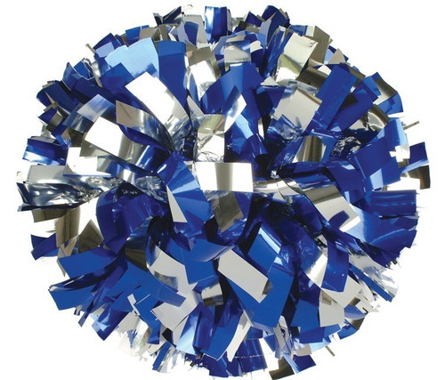2 Color Metallic Poms - Adult