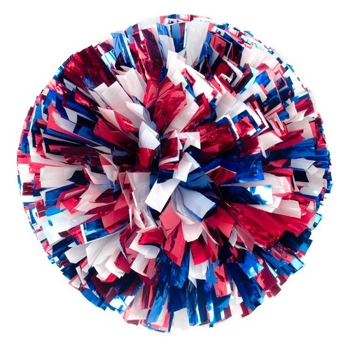3 Color Metallic Poms - Adult