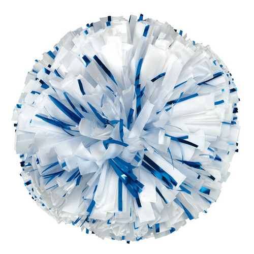 Plastic with 20% Glitter Poms - Adult