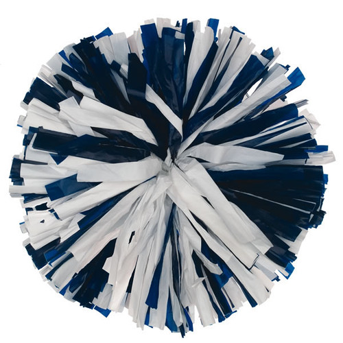 2 Color Plastic Poms - Youth