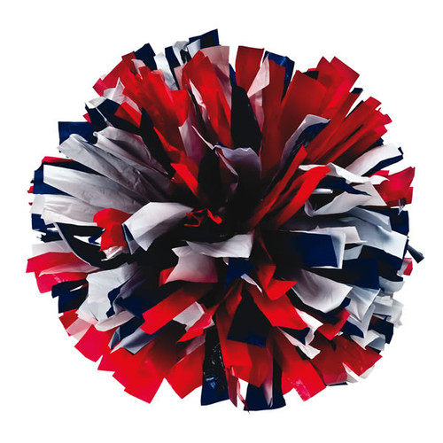 3 Color Plastic Poms - Youth