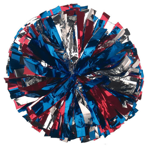 3 Color Metallic Poms - Youth