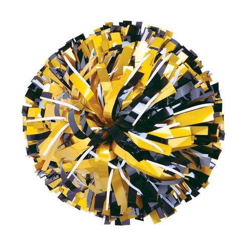 Metallic with 20% Metallic Glitter Poms - Youth