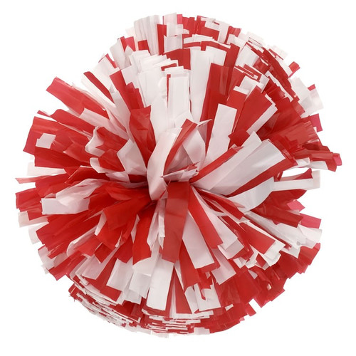 2 Color Plastic Stock Poms - Youth (KAP)