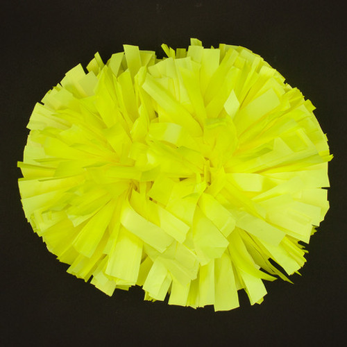 Black Light Neon Fluorescent Poms - Youth