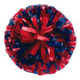 1 Color Plastic with Specialty Flash Poms - Adult