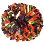 2 Color Plastic with Metallic Flash Poms - Adult