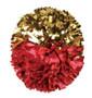 2 Color Metallic Poms - Adult