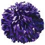 1 Color Metallic Poms - Youth