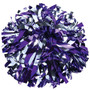 2 Color Metallic Poms- Youth