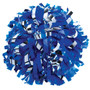 1 Color Plastic with Metallic Flash Poms - Youth
