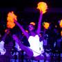 Black Light Neon Fluorescent Poms - Adult