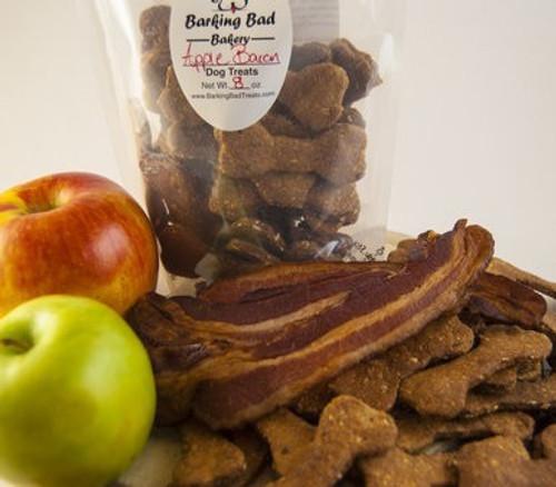 Apple Bacon Dog Treats