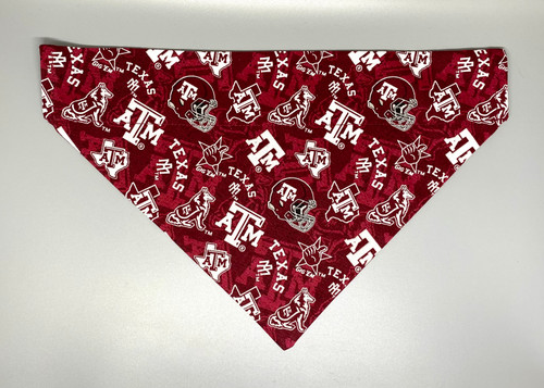 Texas A&M University Aggies Dog Bandana