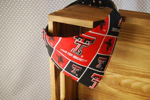 Texas Tech University Dog Bandana