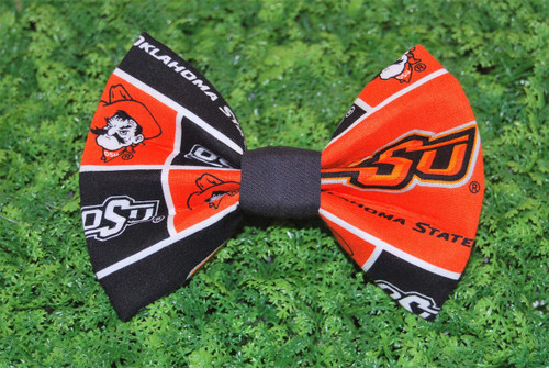 Oklahoma St University Cowboys Pet Bow Tie