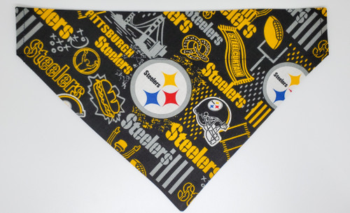 Pittsburgh Steelers Hometown Pennant Dog Bandana