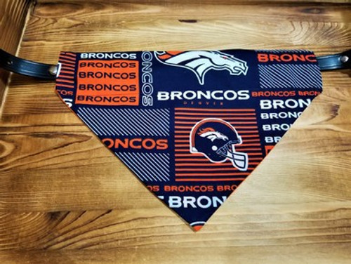 Denver Broncos Dog Bandana