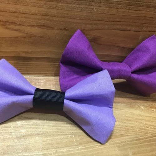 Purple Pet Bow Tie