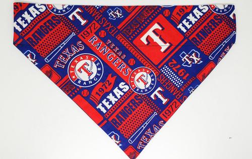 Texas Rangers Dog Bandana