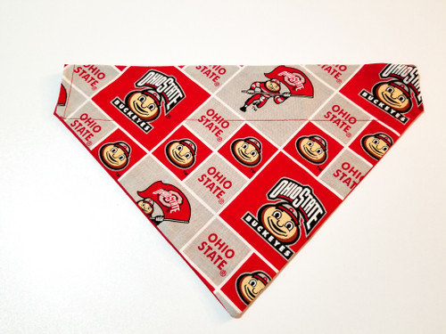 Ohio St. University Buckeyes Dog Bandana