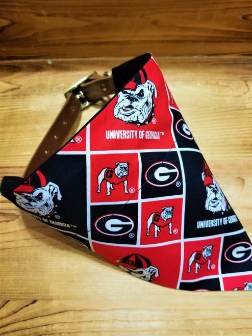 Georgia University Bulldogs Dog Bandana