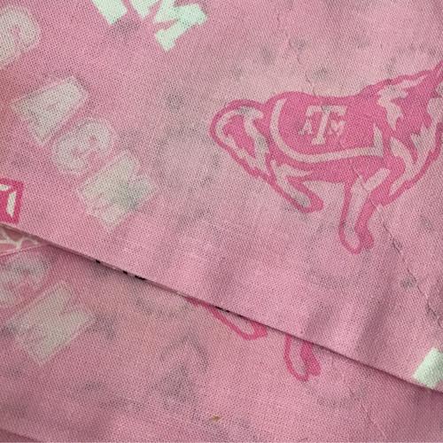 Texas A&M Aggies Pink Dog Bandana