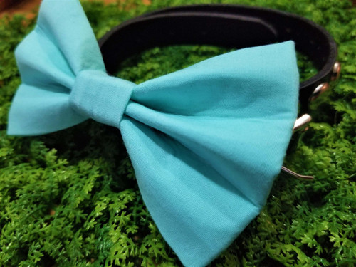 Light Blue Pet Bow Tie