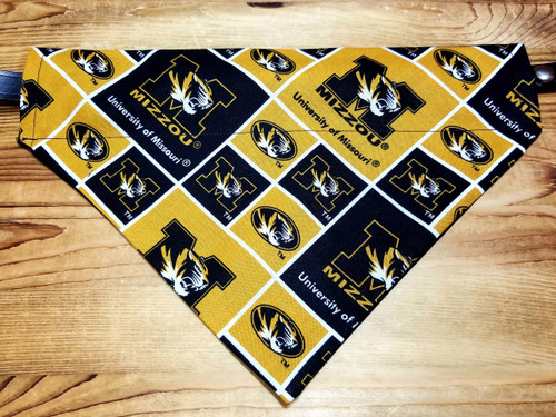 Mizzou University Of Missouri Dog Bandana