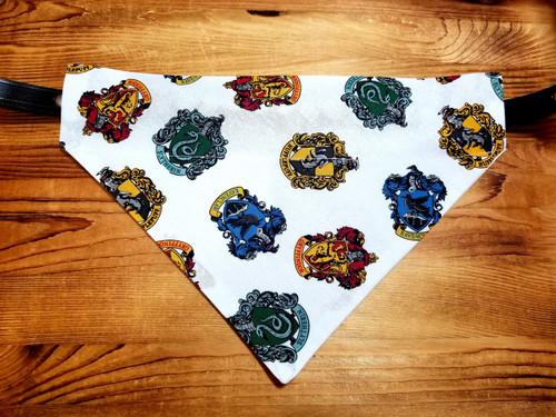 Harry Potter House Crest Dog Bandana
