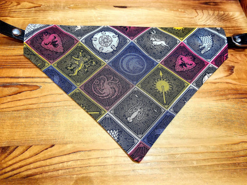 Game of Thrones Dog Bandana