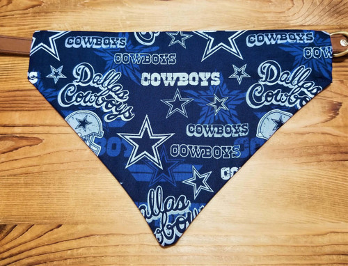 Cowboys Blue New Dog Bandana Dallas