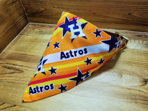Houston Astros Retro Dog Bandana