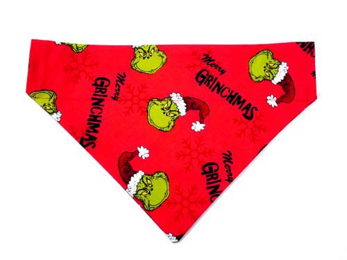 The Grinch Christmas Dog Bandana