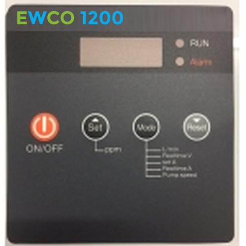 EWCO 1200 System Label