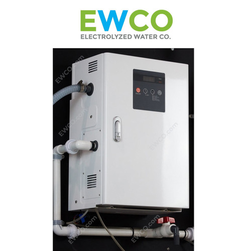 EWCO 1200 System with pH control (pH 4-6) - Generate Hypochlorous Acid (HOCl) up to 400 ppm - $23,998
