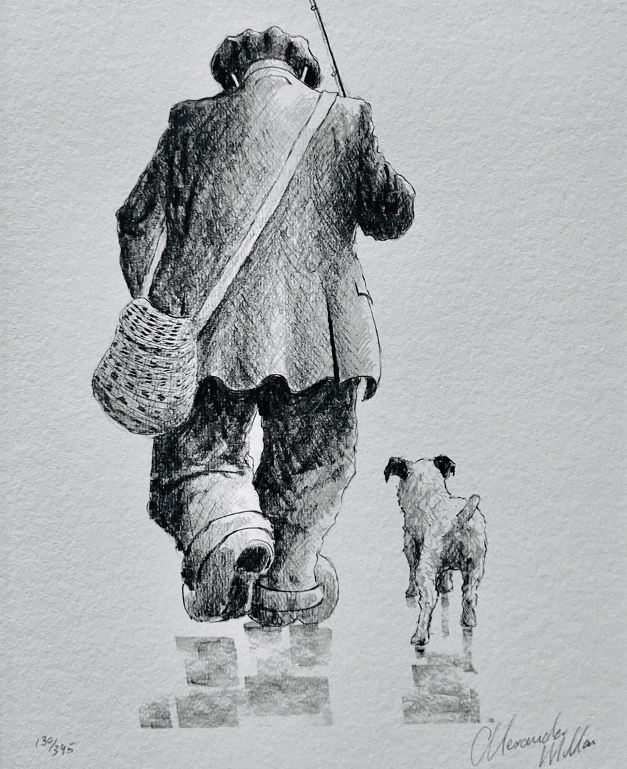Two's Better Than One - a signed, limited edition print with my compliments