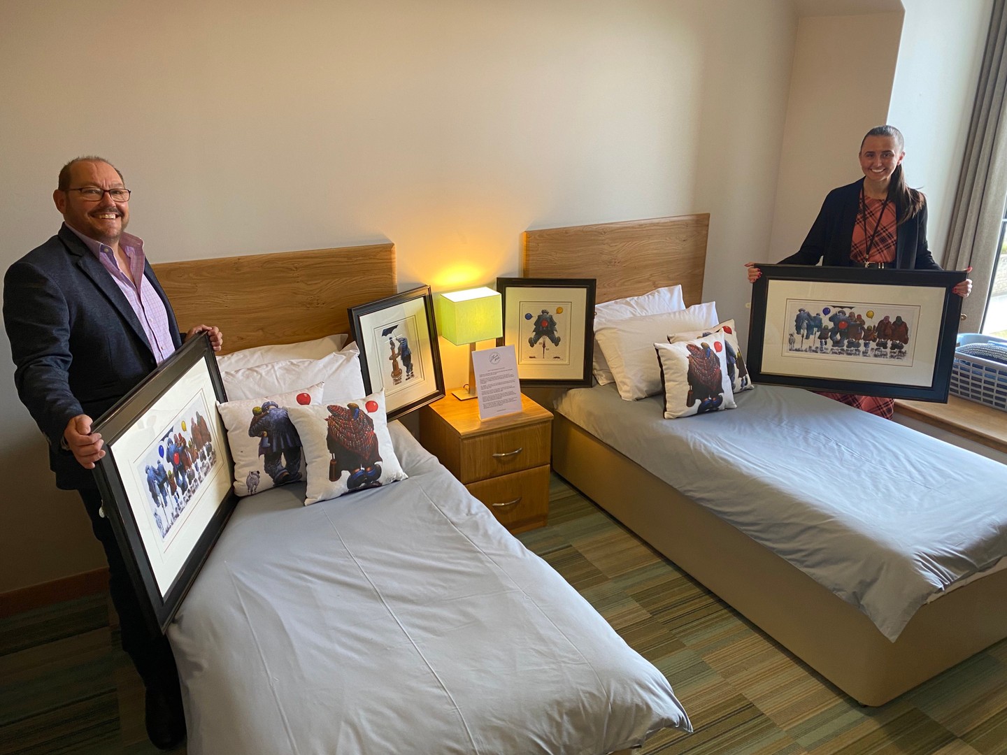 Gadgies on show at Ronald McDonald House in Glasgow