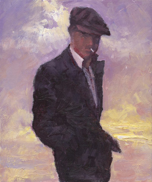 The quiet Man is a is a limited edition print of the painting by Scottish artists Alexander Millar. It depicts one of his favourite film stars - John Wayne.