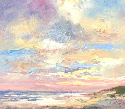 Sun, Sea and Sand - Wester Ross is an original oil painting by Scottish artist Alexander Millar.