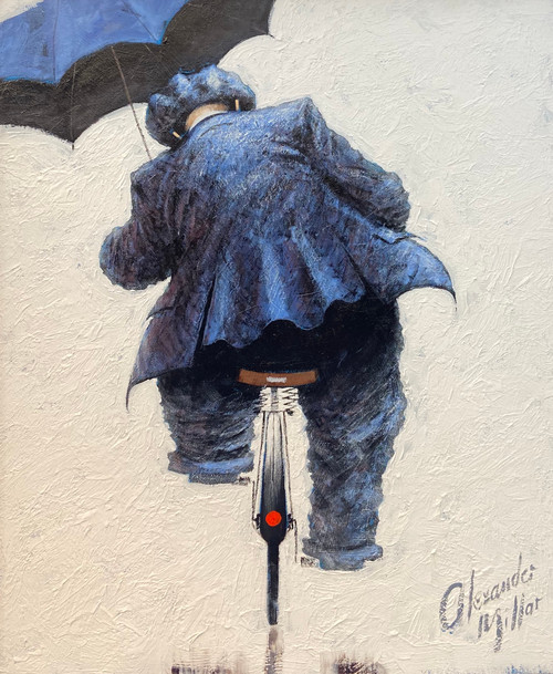 A Man for all Seasons is an original oil painting by Scottish artist Alexander Millar.