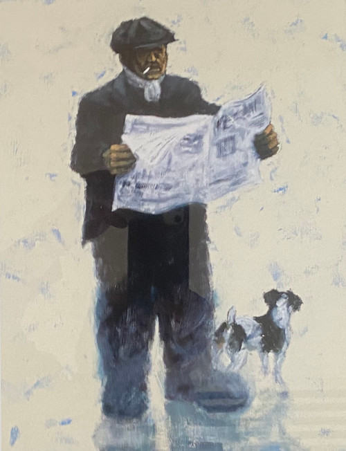 The Racing Post is a rare, artist's proof of the painting by Alexander Millar.
