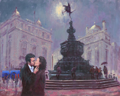 Cupid's Arrow is a signed, limited edition print of the original oil painting buy Alexander Millar.