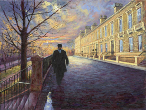 West Side Story is a signed, limited edition print of an original oil painting by Alexander Millar.